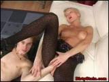 Fistingowe perwersje z analna blondi