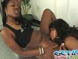 Czarne lesby w ostrej akcji