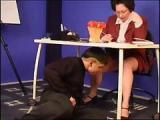 Nauczycielka daje se podgladac