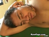Dude spits on latin guy ass to make it slippery and fucked hard