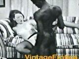 Interracial vintage sex