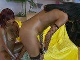 Czarne lesbijki w akcji