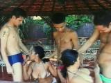 Brazylijski seks grupowy