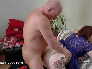 A young Lady enjoying first big cock deep inside her pussy