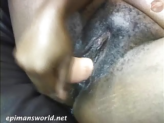 MS Kitty gets pussy messy