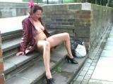 Dojrzala w miejscach publicznych
