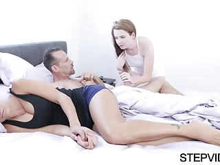 Karlie Brooks gets fucked by  stepfather