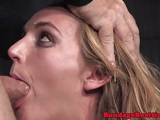 Tiedup submissive pounded hard by maledoms