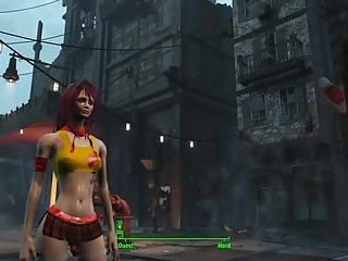 Fallout 4 Sexy schoolgirl 2
