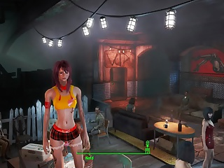 Fallout 4 Sexy schoolgirl
