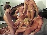 Seks grupowy vintage porno
