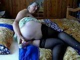 Amatorski sex starej babci z dziadkiem