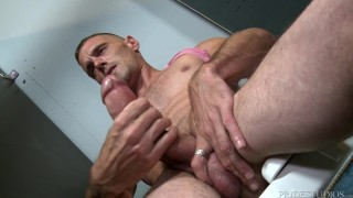 Extra Big Dicks - Toilet Voyeur