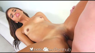 Exotic4K - Sexy Latina Gabriella shows how to shake her goods