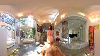 VR Stereoscopic 360 - Hot Milf Dana Dearmond Has The Sexiest Ass