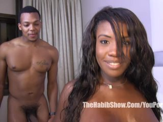 Texas Chocolate Mckenzie lee fucked by BBC jimmy D