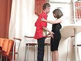 Ostry sex z rosyjska cioteczka