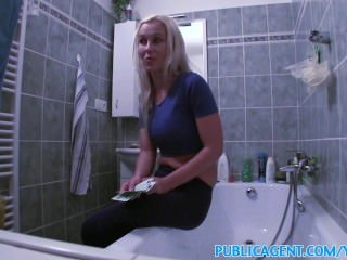 PublicAgent Blonde wants sex on a table