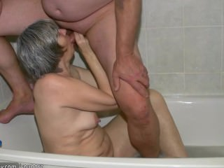 Solo Granny, chubby Granny fucking with a young boy