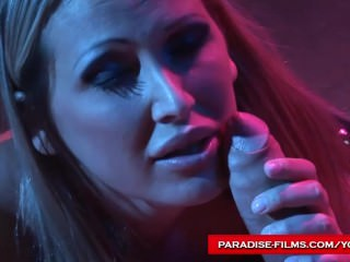 Paradise Films Mandy Bright using her sex slave