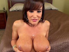 Lisa Ann is a cougar that needs that hard cock to get off