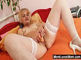 Staruszka pragnie mocnego orgazmu