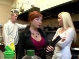 Ruda robi porządki w kuchni