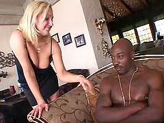 Jessica Sweet sucks a BBC before taking it in her pussy and tight butt