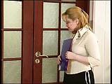 Dojrzala rosjanka z szefem