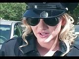 Hardcorowa policjantka w latexie