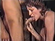 Retro Cum in Mouth