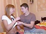 Nastolatka nie mogla sie doczekac partnera
