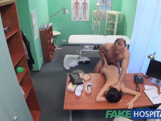 FakeHospital Sensitive pussy and tits