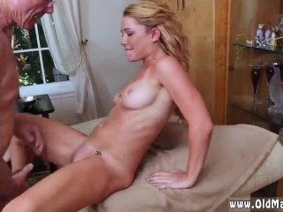 Young blonde fucked by father Frankie And