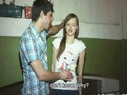 Nastoletnia suczka chce z kolega chlopaka