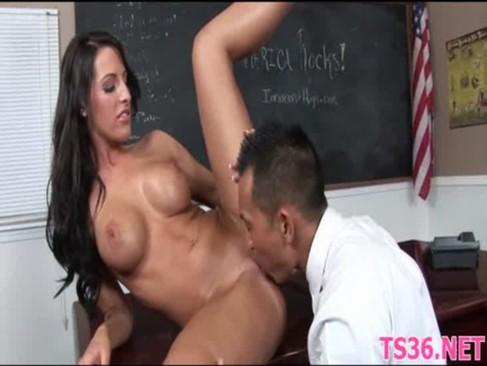 Sex studentka z profesorkiem