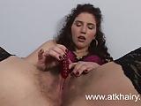 Masturbacje owlosionej cipki