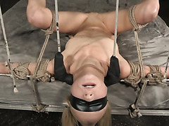 Odette Delacroix totally surrenders to her sex starved bondage master