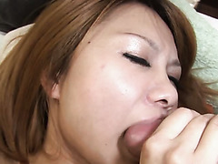 Miyo Saeki loves her rabbit vibrator just as much as she loves her BF's dick