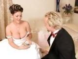 Panna mloda ma wielka ochote na goscia weselnego