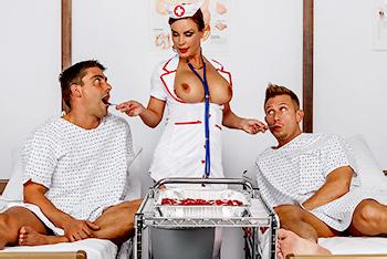 Perverted nurse on night duty
