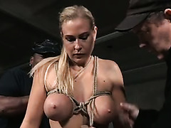 Angel Allwood is into rope bondage and she can really deepthroat