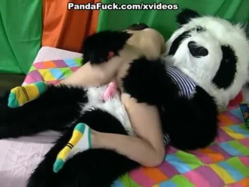 Panda znowu atakuje nastolatki