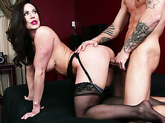 kendra lust richie black in my friends hot mom doggy
