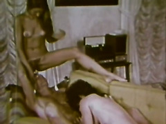 Two libidinous vintage lesbians know for sure how to satisfy each others lust