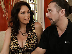 Majestic milf Charlee Chase takes advantage of a younger man