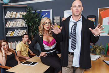 Sex nauczyciela z nauczycielka