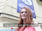 PublicAgent HD Fit young ginger model wants to be movie star