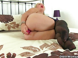 Very good natural lush big unleashes her tits milf uk lulu thought