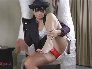 Japońska stewardessa seks
